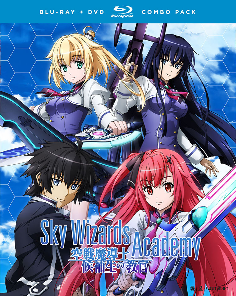 Sky Wizards Academy Blu-ray/DVD 704400016752