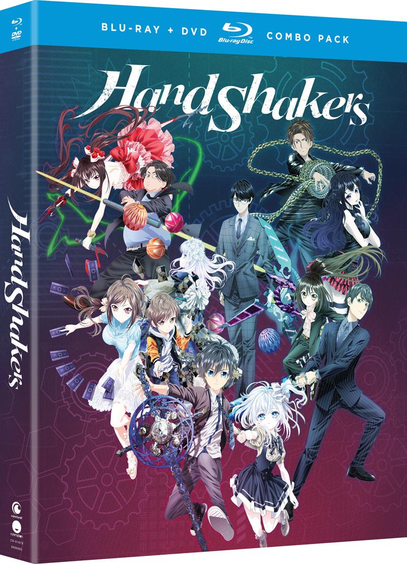 Hand Shakers Blu-ray/DVD 704400016790