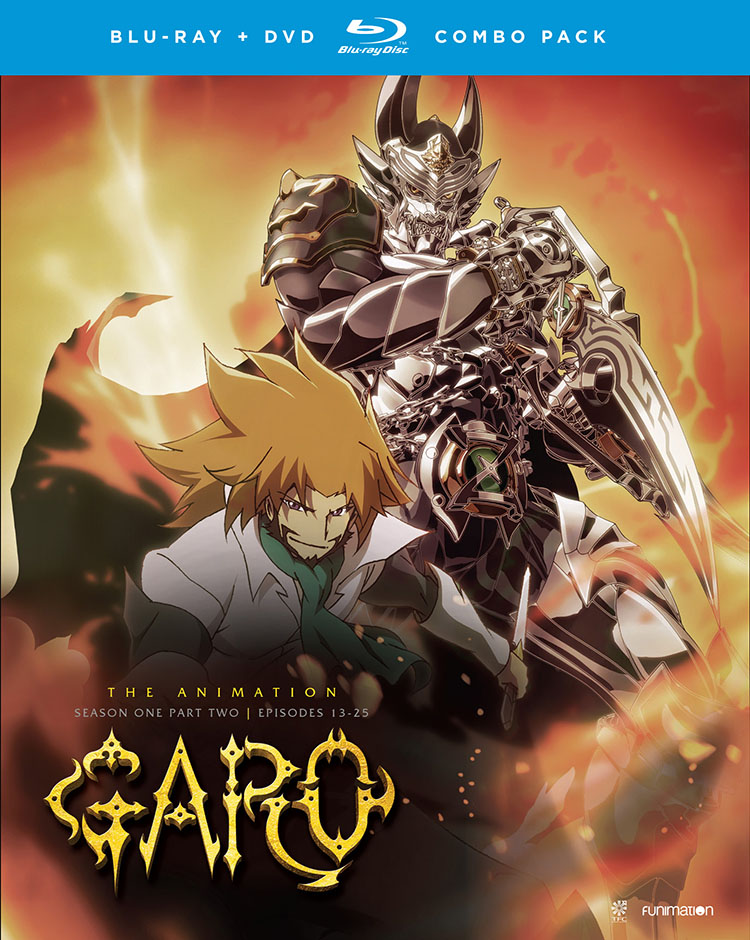 GARO The Animation Season 1 Part 2 Blu-ray/DVD 704400016820