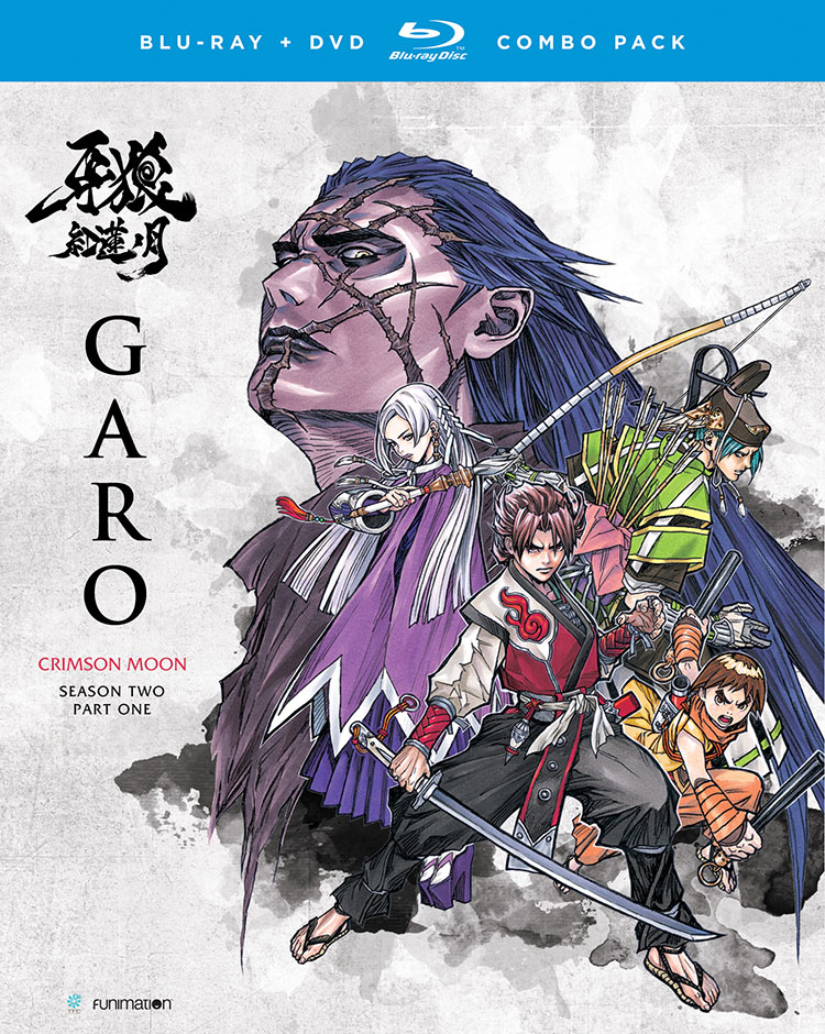 GARO The Animation Season 2 Part 1 Blu-ray/DVD