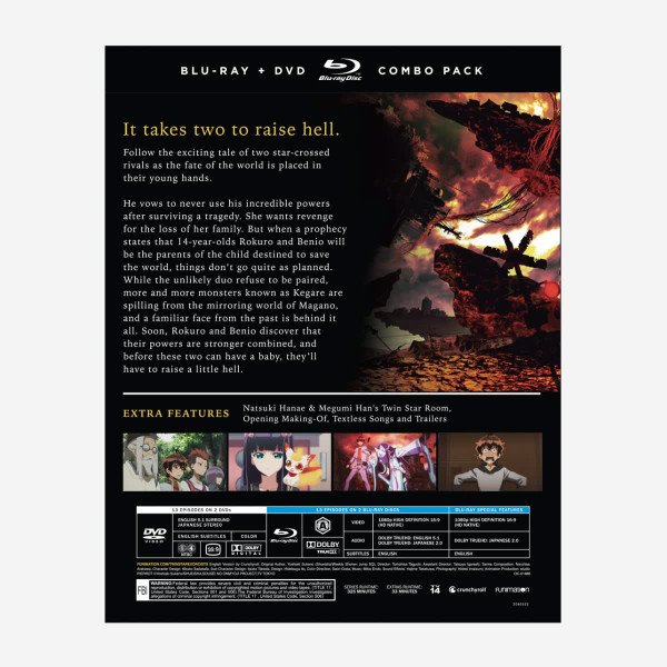Twin Star Exorcists Part 1 Blu-ray/DVD