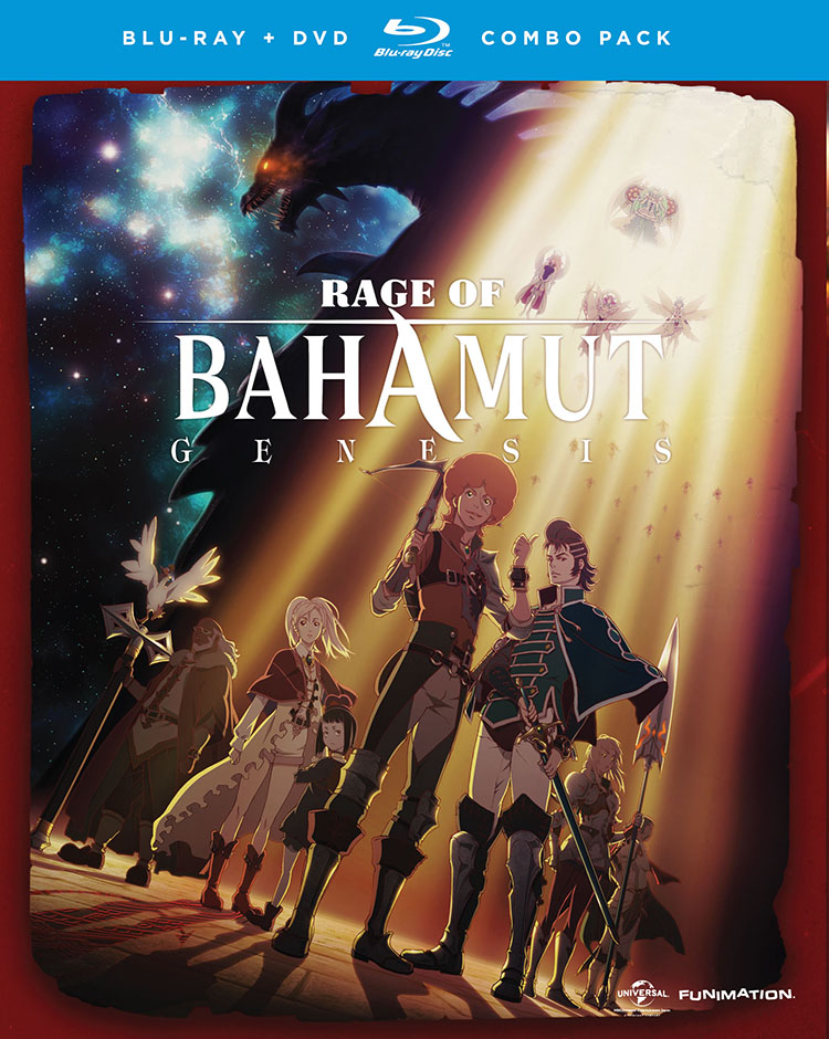 Rage of Bahamut Season 1 Blu-ray/DVD 704400016905