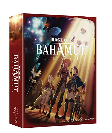 Rage of Bahamut Season 1 Limited Edition Blu-ray/DVD 704400016912