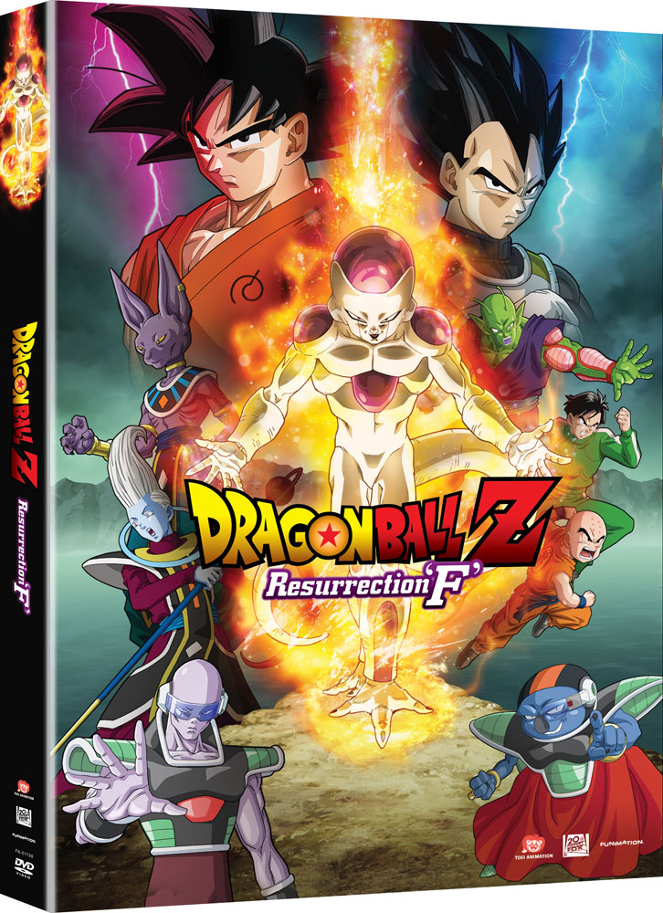 Dragon Ball Z Resurrection F Movie DVD 704400017001