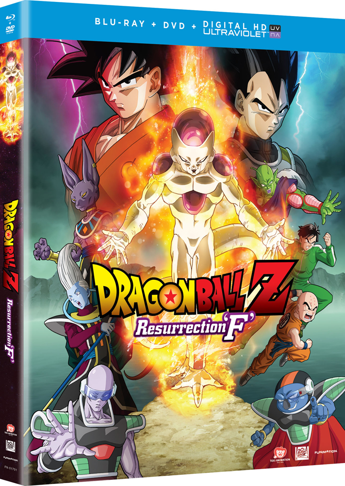 Dragon Ball Z Resurrection F Movie Blu-ray/DVD + Digital HD 704400017018