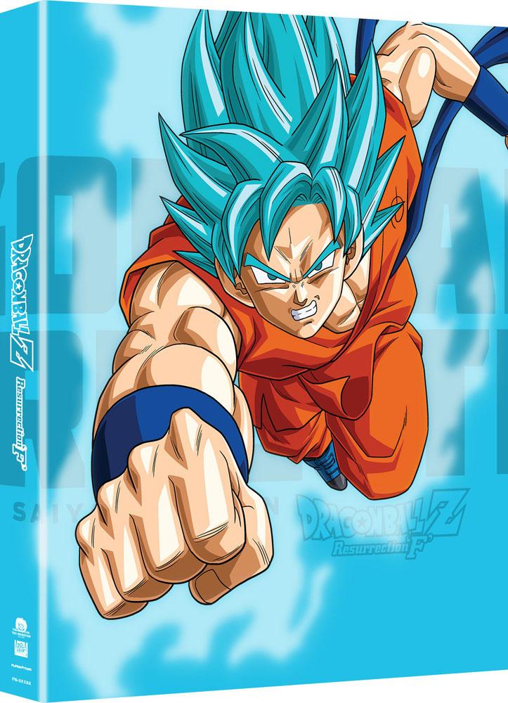 Dragon Ball Z Resurrection F Movie Collector S Edition Blu Ray Dvd