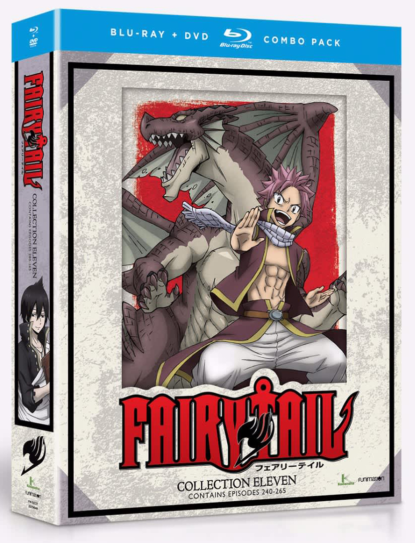 Fairy Tail Collection 11 Blu-ray/DVD 704400017278