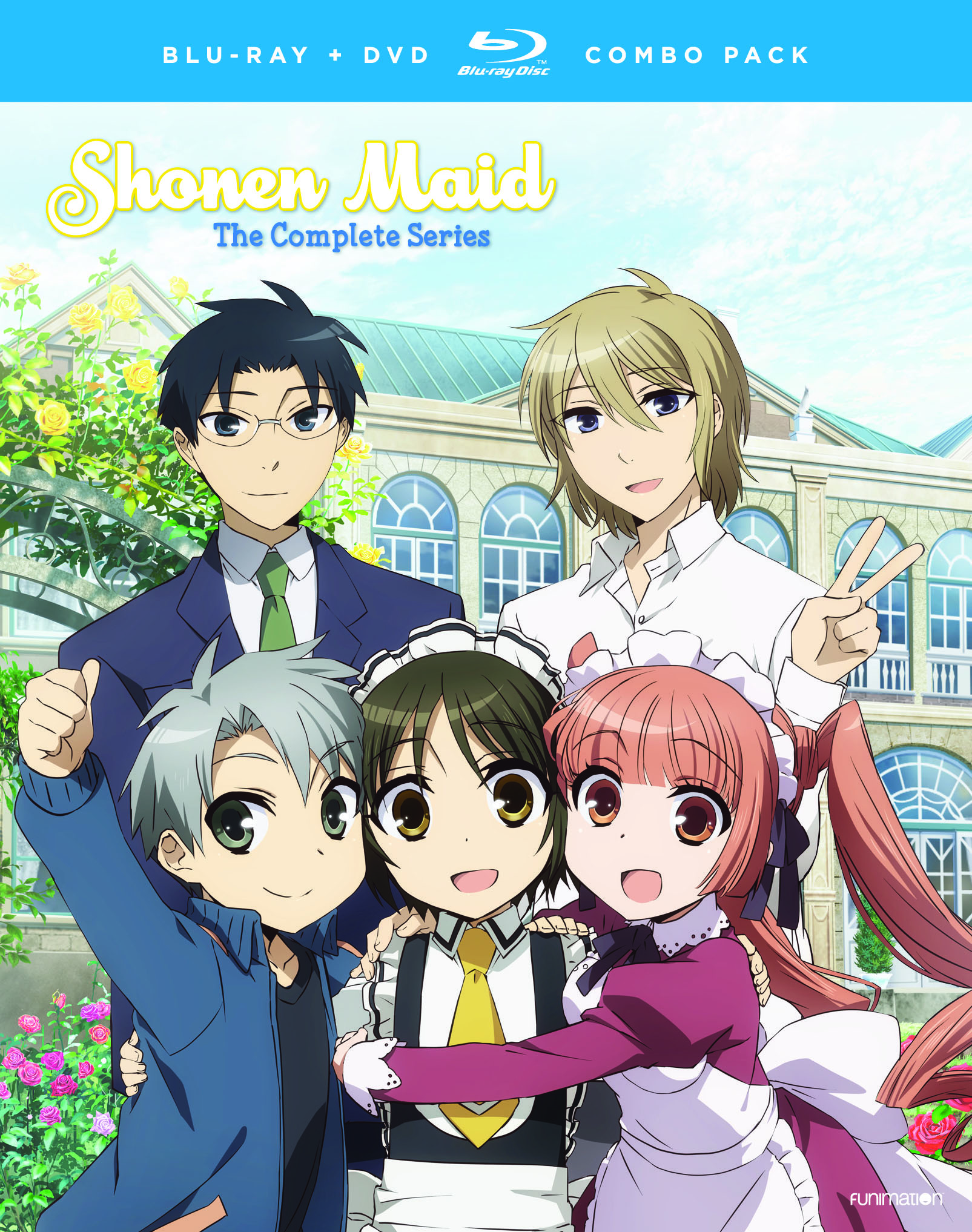 Shonen Maid Blu-ray/DVD 704400017339