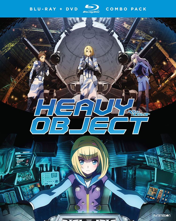 Heavy Object Season 1 Part 1 Blu-ray/DVD 704400017353