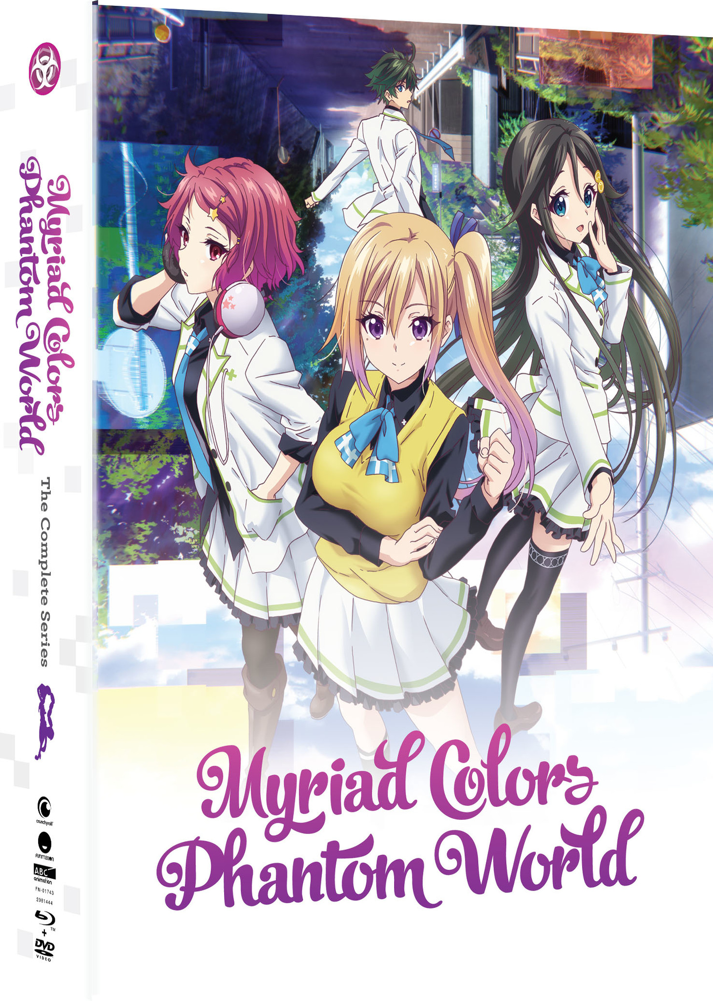 Myriad Colors Phantom World Limited Edition Blu-ray/DVD 704400017438