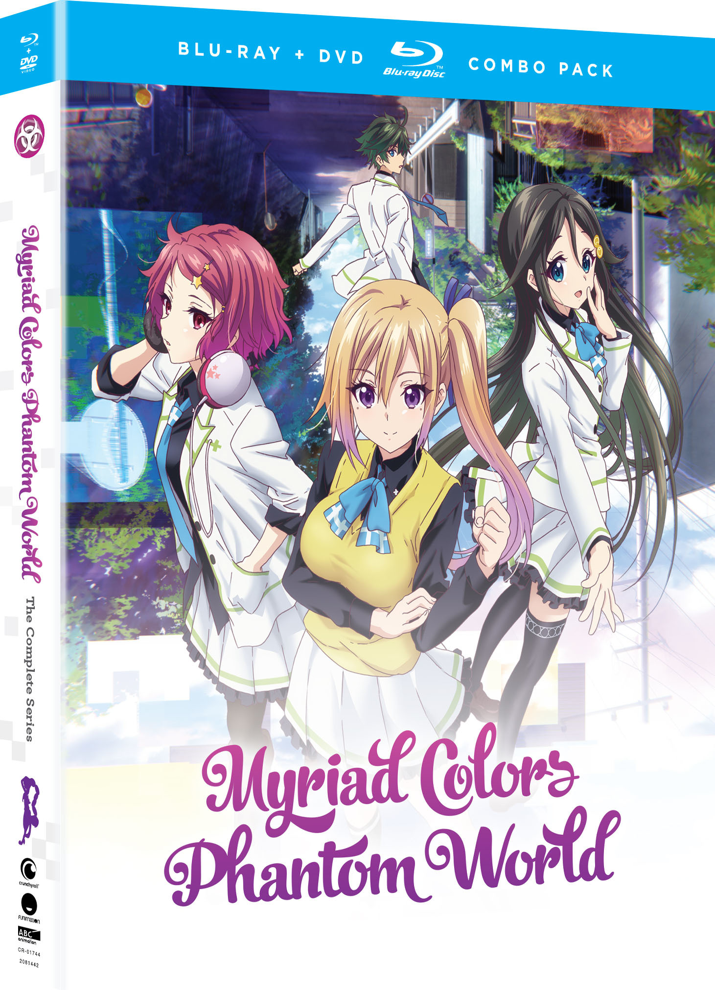 Myriad Colors Phantom World Blu-ray/DVD