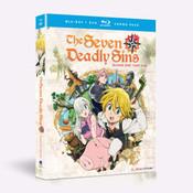 Seven Deadly Sins Season 1 Part 1 Blu-ray/DVD