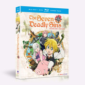 Seven Deadly Sins Season 1 Part 1 Blu-ray/DVD