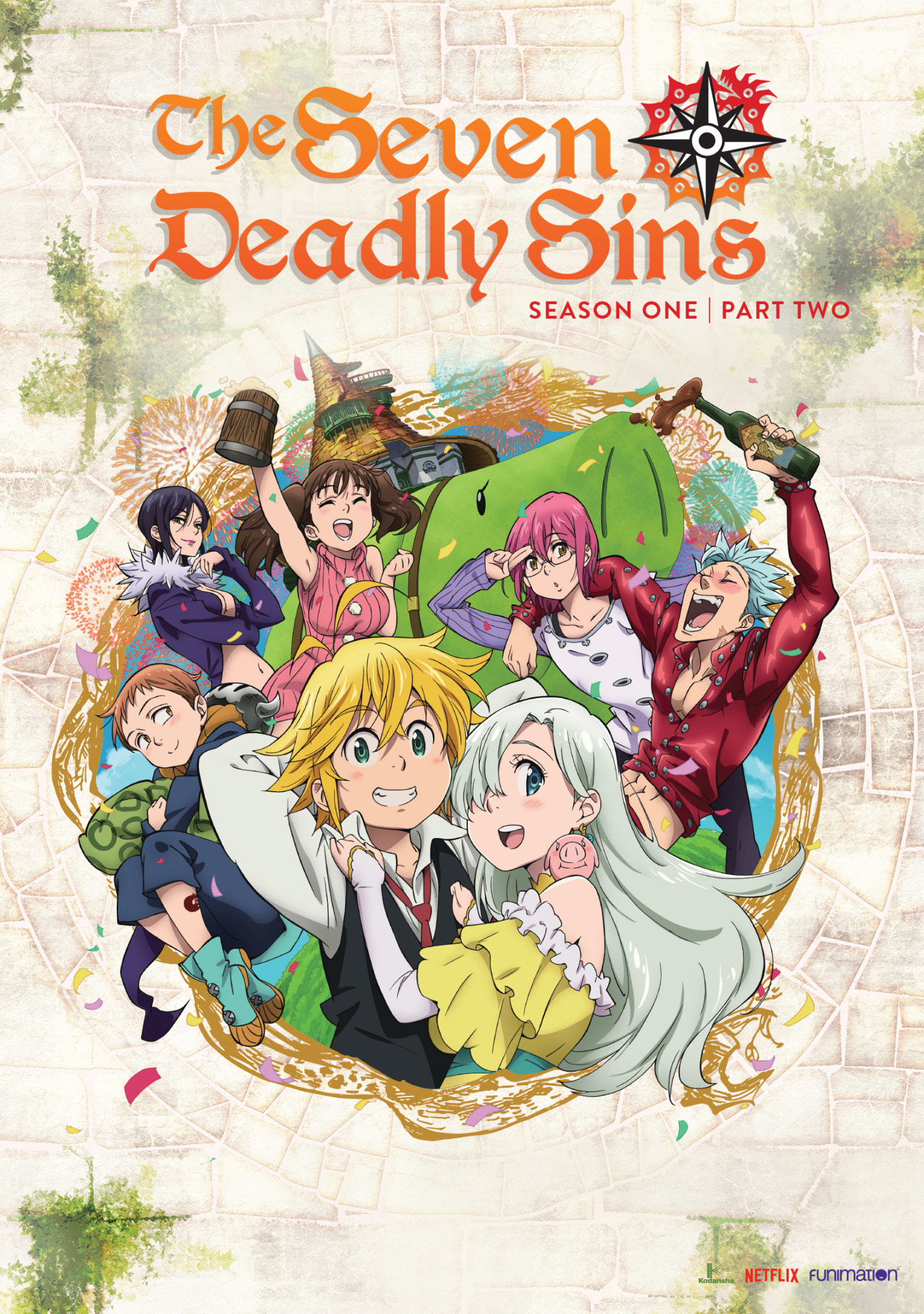Seven Deadly Sins Season 1 Part 2 DVD