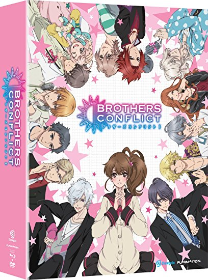 Brothers Conflict Complete Series + OVA Limited Blu-ray/DVD