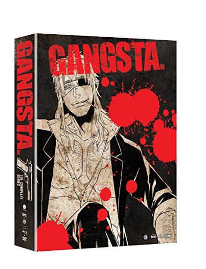 GANGSTA Limited Edition Blu-ray/DVD 704400017551