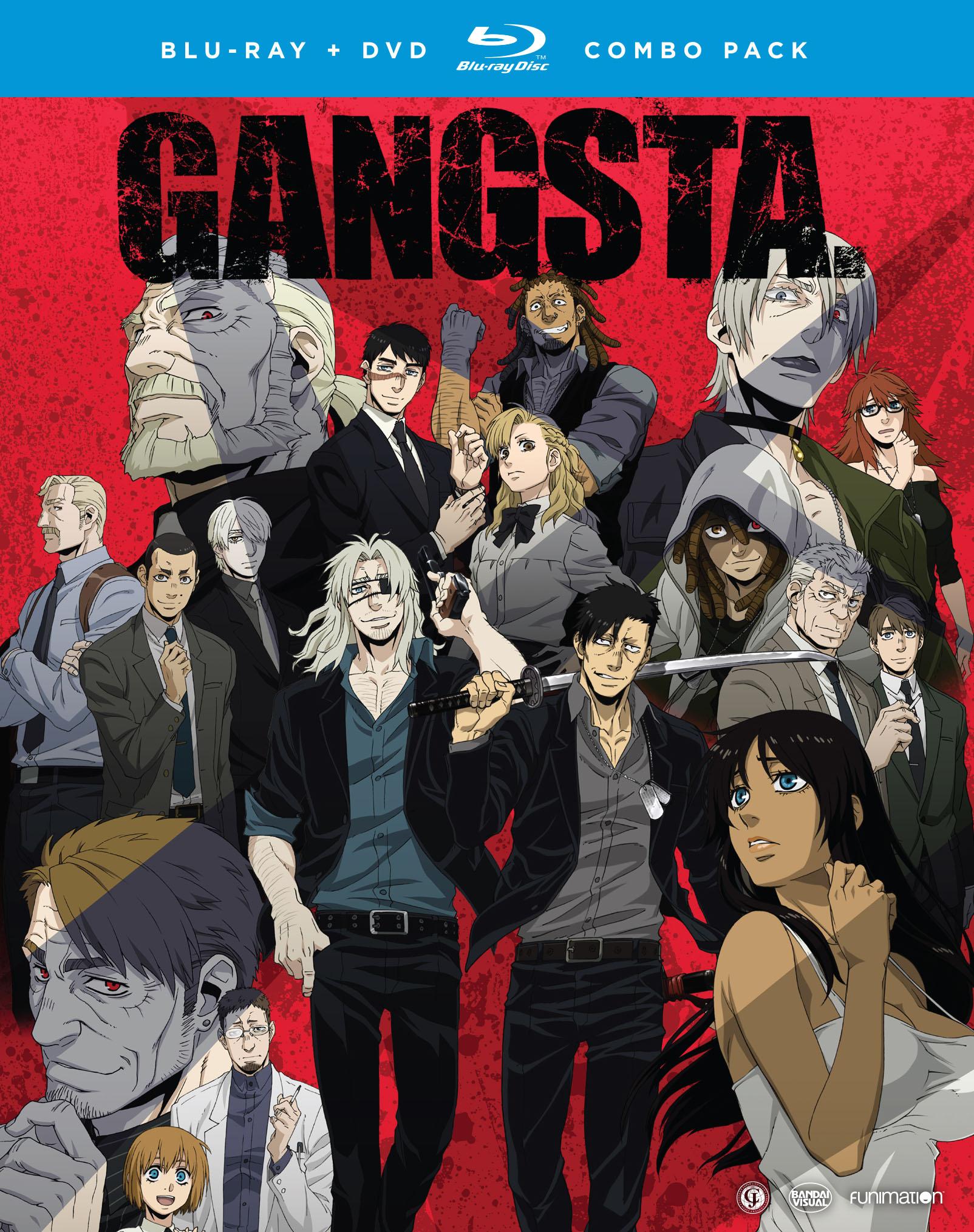 GANGSTA Complete Series Blu-ray/DVD