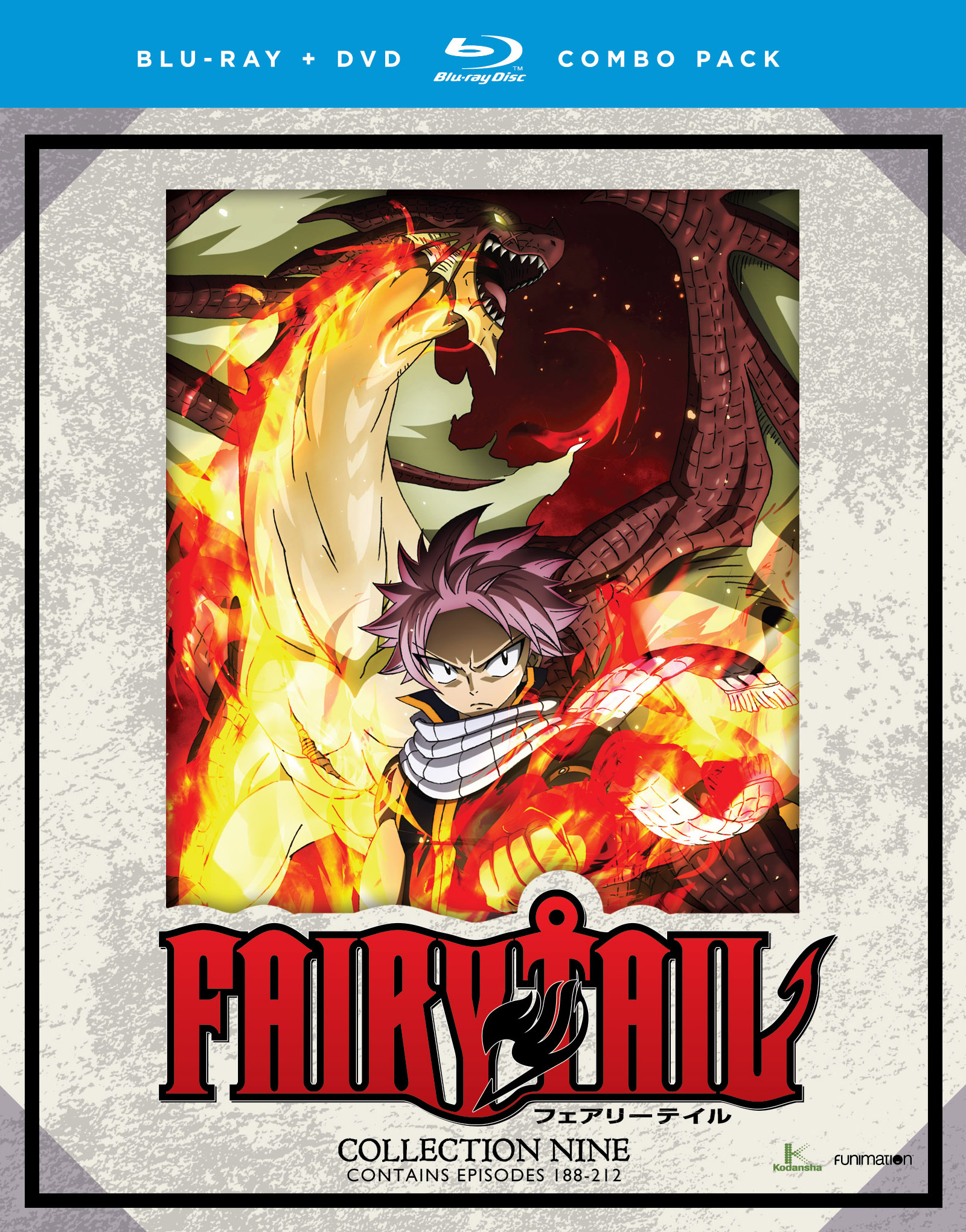 Fairy Tail Collection 9 Blu-ray/DVD 704400017643