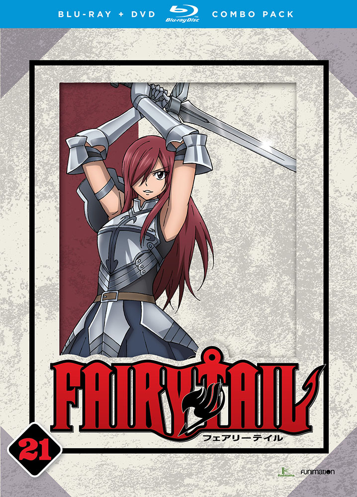 Fairy Tail Part 21 Blu-ray/DVD