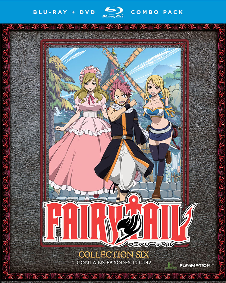 Fairy Tail Collection 6 Blu-ray/DVD 704400017674