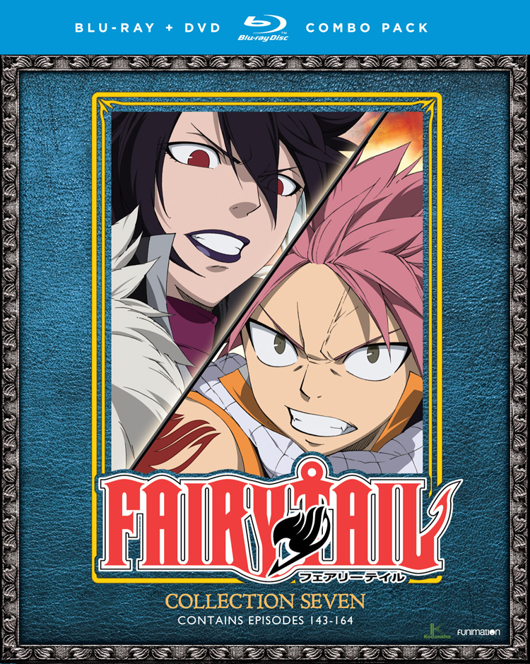 Fairy Tail Collection 7 Blu-ray/DVD 704400017681