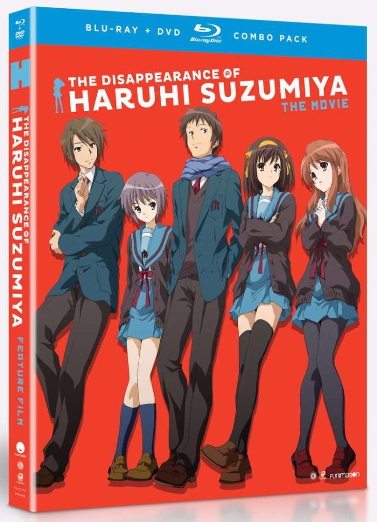 The Disappearance of Haruhi Suzumiya Blu-ray/DVD 704400017735