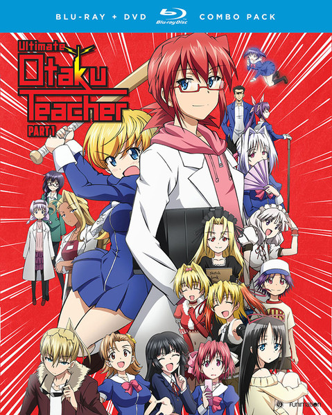 Ultimate Otaku Teacher Season 1 Part 1 Blu-ray/DVD