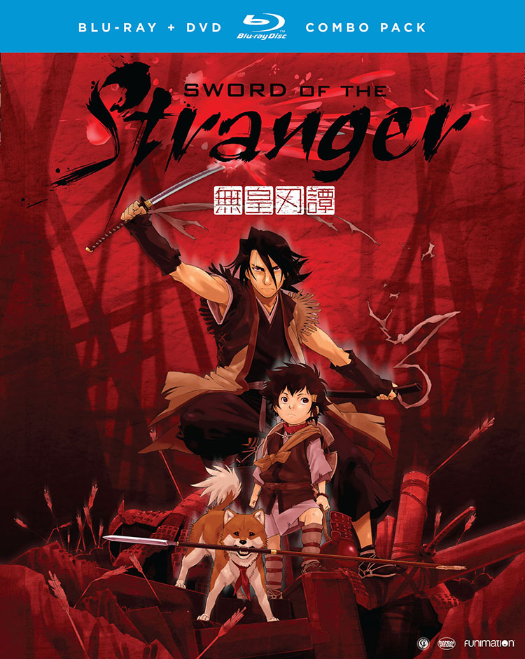 Sword of the Stranger Blu-ray/DVD 704400017858