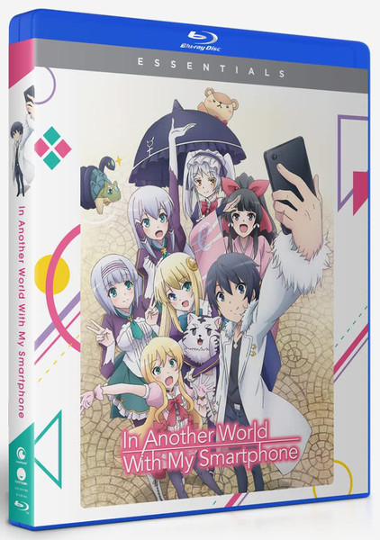 In Another World With My Smartphone Essentials Blu-ray