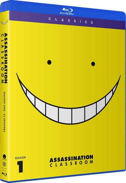 Assasination Classroom Season 1 Classics Blu-ray