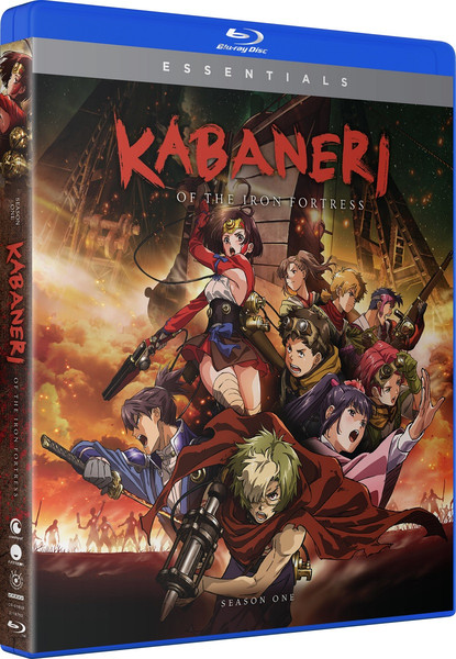 Kabaneri of the Iron Fortress Season 1 Essentials Blu-ray