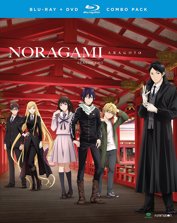 Noragami Aragoto Blu-ray/DVD 704400018060