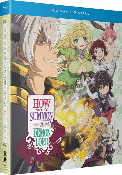How NOT to Summon a Demon Lord Blu-ray