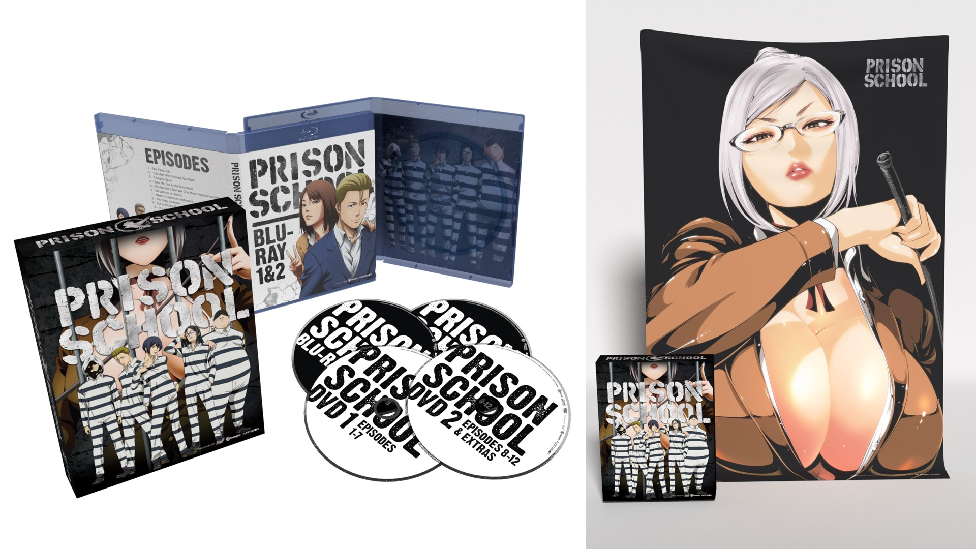 Prison School Limited Edition Blu-ray/DVD