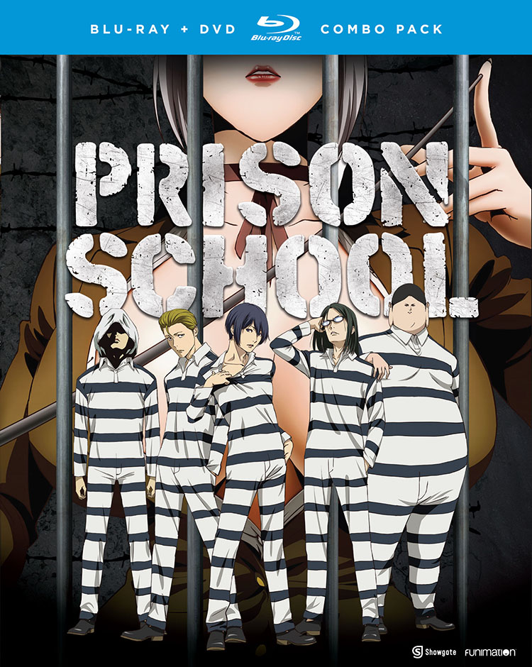 Prison School Blu-ray/DVD 704400018114