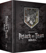 Attack on Titan Season 3 Part 1 Limited Edition Blu-ray/DVD + GWP