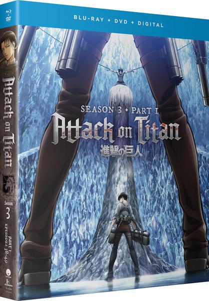 Attack on Titan Season 3 Part 1 Blu-ray/DVD