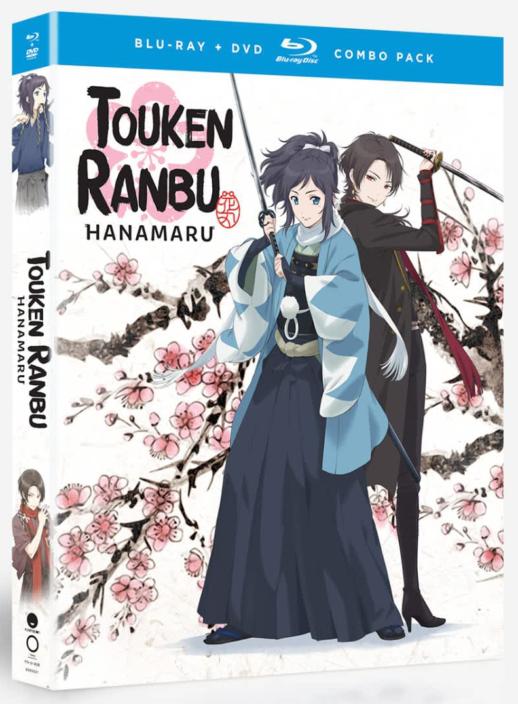 Touken Ranbu Hanamaru Season 1 Blu-ray/DVD 704400018268