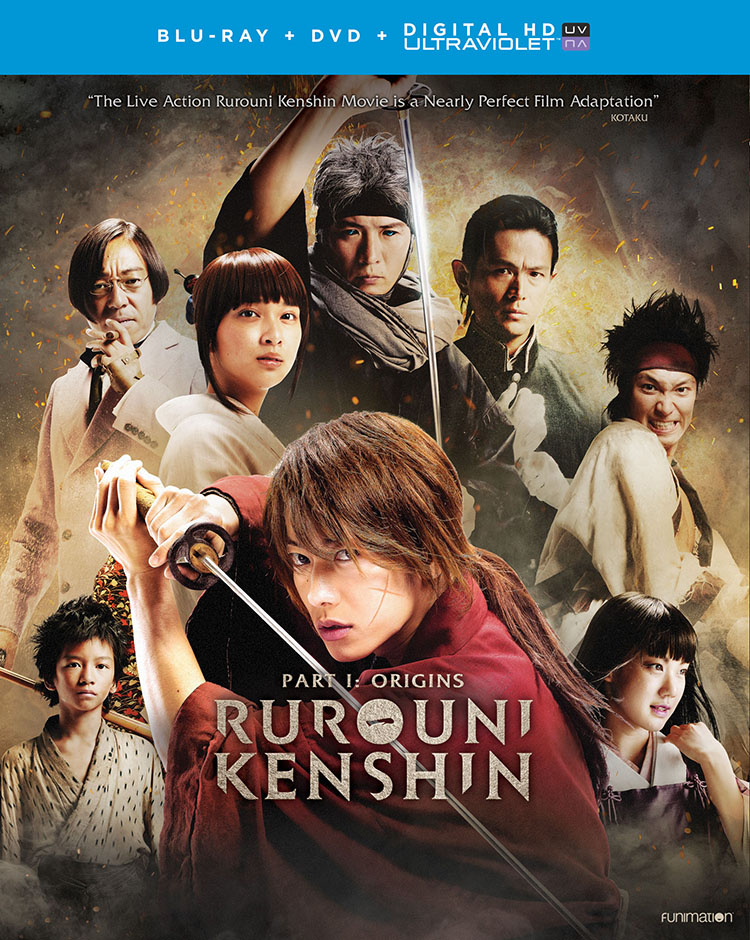 Rurouni Kenshin Origins Blu-ray/DVD + UV 704400018305