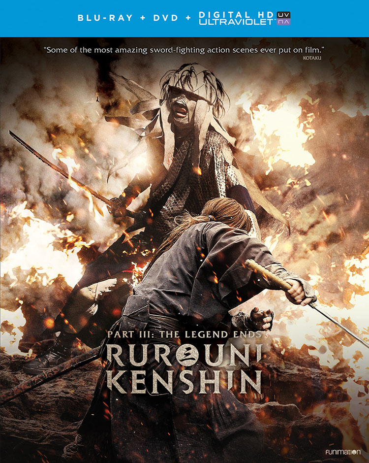 Rurouni Kenshin Part III The Legend Ends Blu-ray/DVD + UV 704400018350