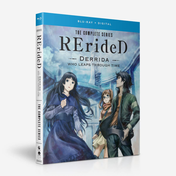 RErideD? Derrida who leaps through time Blu-ray
