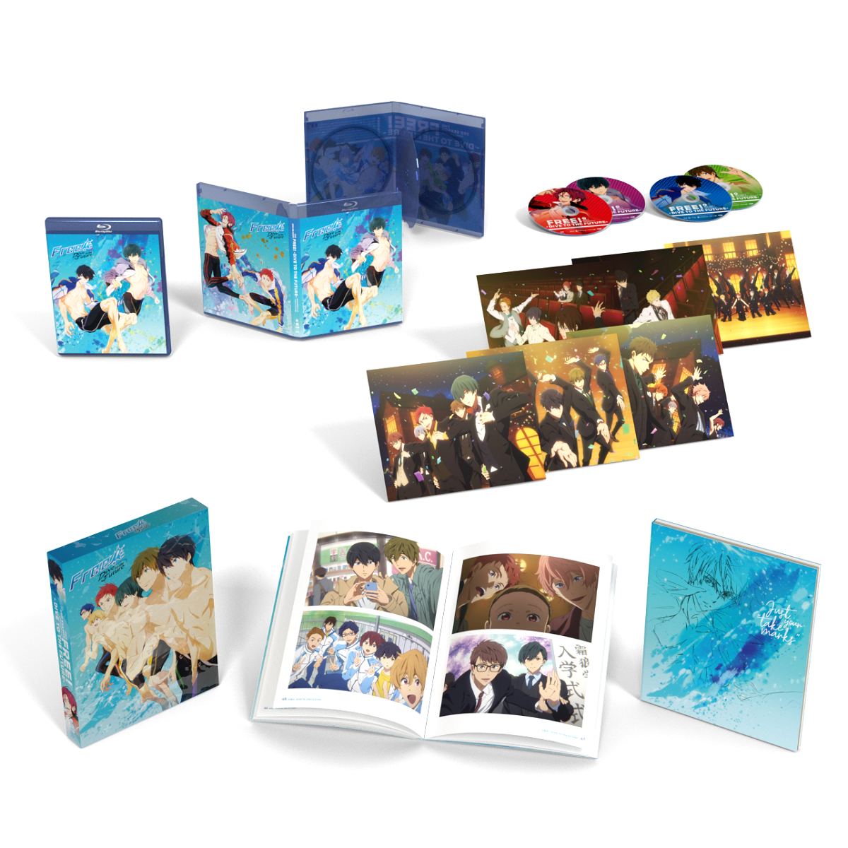 Free! Dive to the Future Season 3 Limited Edition Blu-ray/DVD