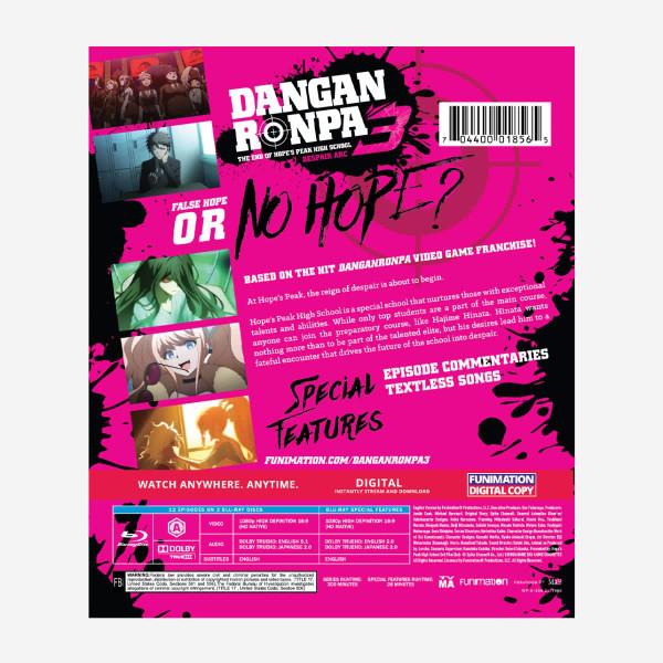 Danganronpa 3 Despair Arc Essentials Blu-ray