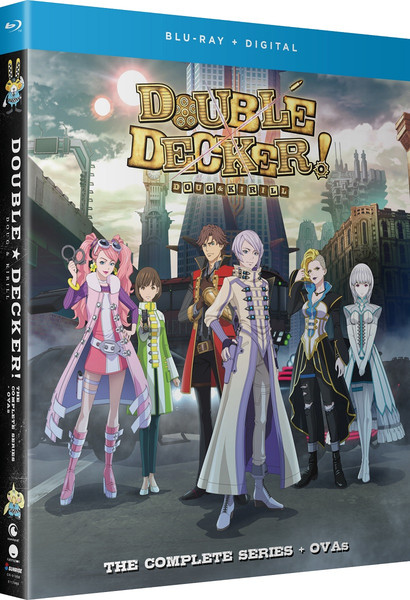 Double Decker! Doug & Kirill Blu-ray + OVA