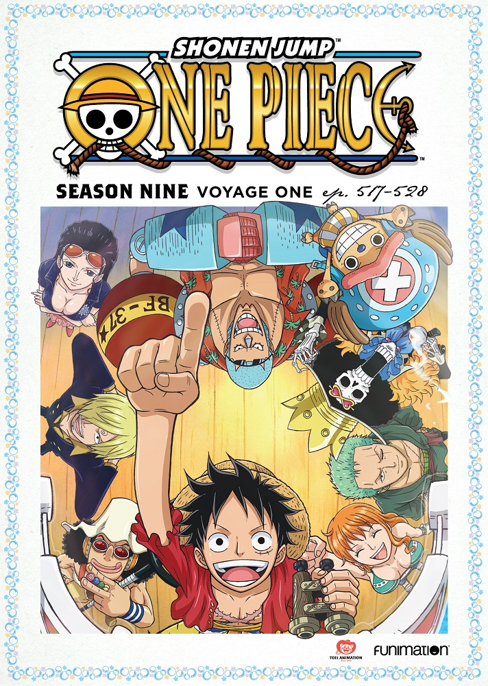One Piece Season 9 Part 1 DVD