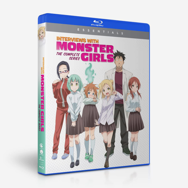Interviews with Monster Girls Essentials Blu-ray