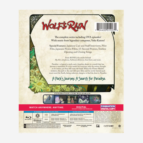Wolf's Rain Classics Blu-ray