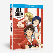 ALL OUT!! Part 2 Blu-ray/DVD