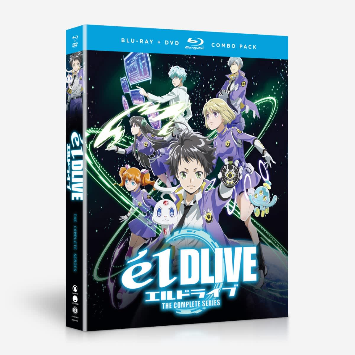 elDLIVE Blu-ray/DVD 704400019111