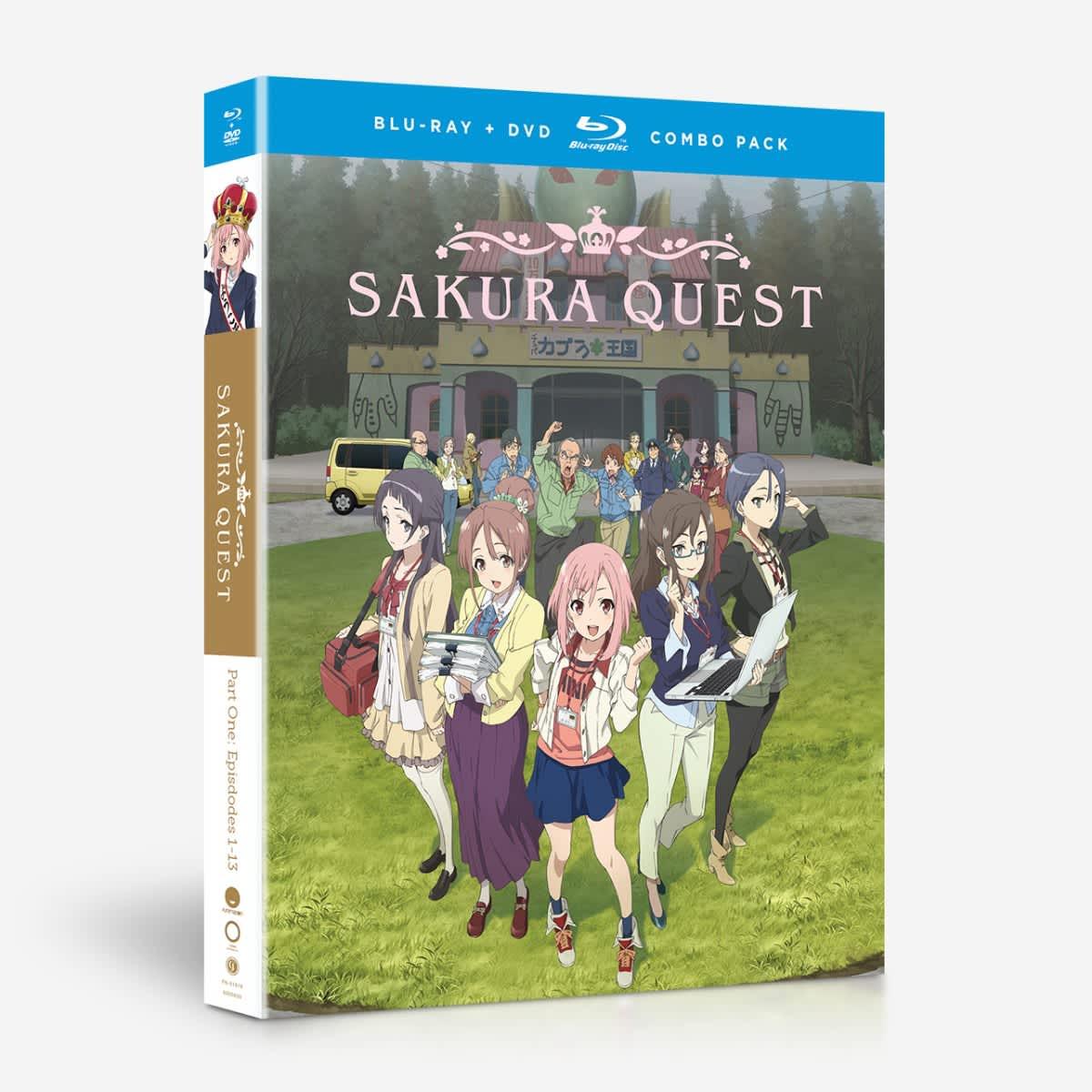 Sakura Quest Part 1 Blu-ray/DVD
